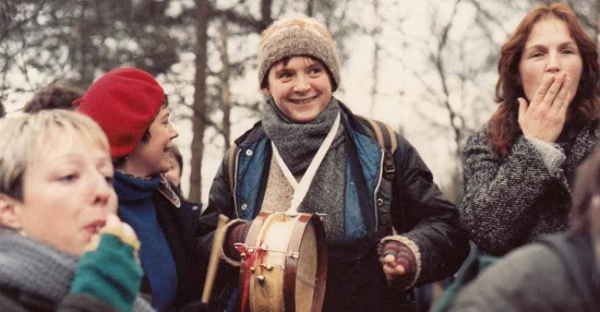 <B><I>'Greenham Women Everywhere' : Rebecca Mordan</I></B>