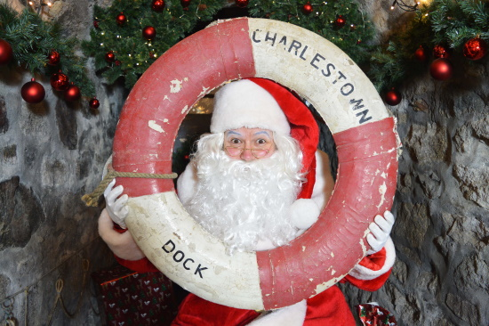 <B>Santa Claus is coming to (Charles)Town!</B>