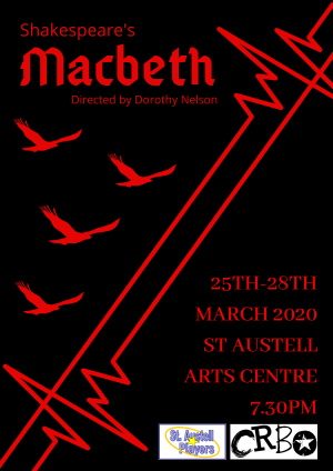 <B>St Austell Players : 'Macbeth'</B>