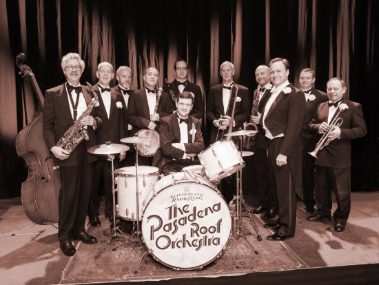 <B><I>The Pasadena Roof Orchestra</I></B>