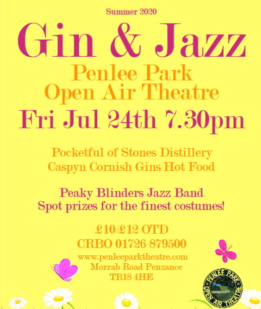 <B><I>Gin & Jazz in the Park</I></B>