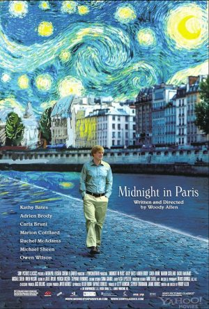 <B>Film : <I>Midnight in Paris</I> - Cert.12A</B>